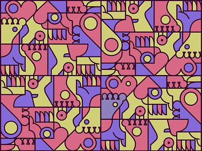 illustration pattern_1 vector minimal illustration design