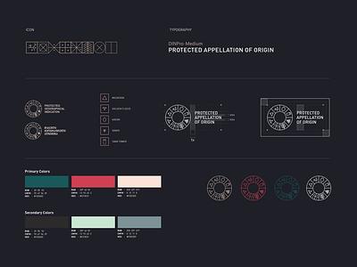 Branding logo typography branding icon vector design