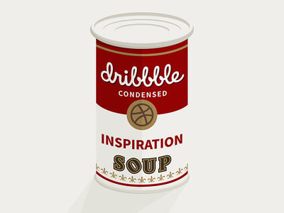 Dribbble condensed inspiration soup