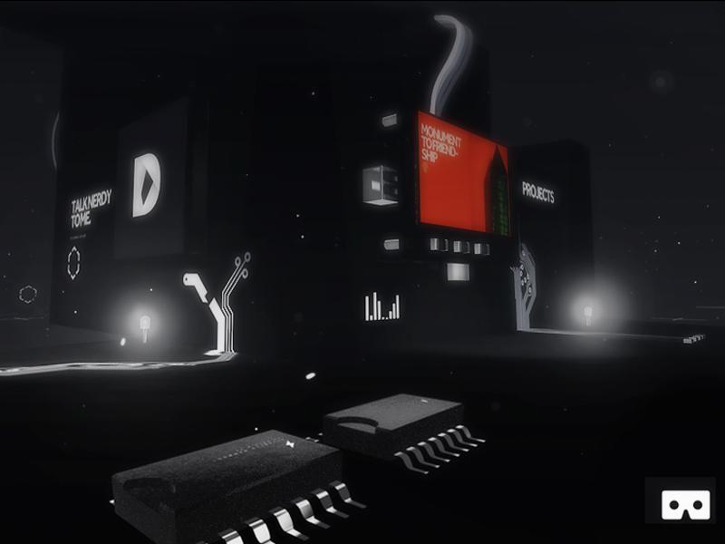 WebVR | ufomammoot.de playcanvas webgl 3d berlin portfolio virtual reality webvr