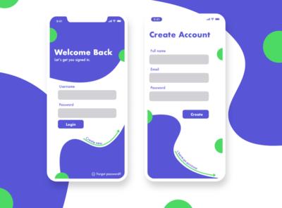 Daily UI Day 1 minimal graphic design clean vector branding ux ui app illustration design daily 100 challenge dailyui
