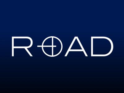Road Logo Design type mobile simple lettering illustrator graphic design clean wick brand identity brand marketing sketch