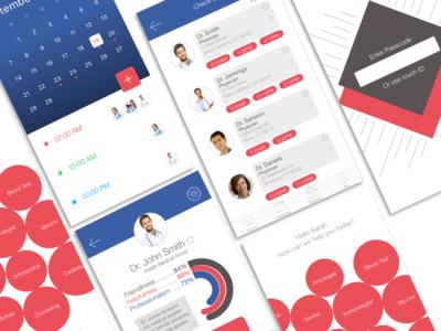 PocketDoc App simple lettering illustrator graphic design clean brand identity brand sketch application app ios sketch app