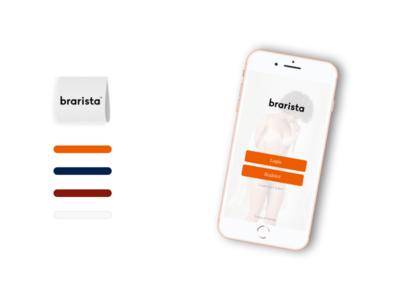 Mobile Landing Page illustrator graphic design clean brand identity brand sketch application app ios sketch app proto.io protoio