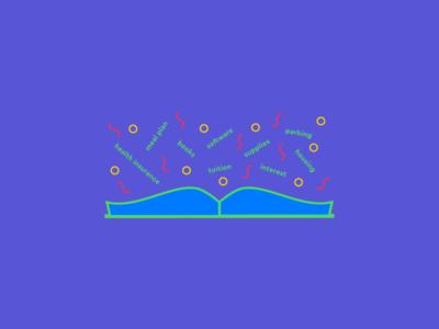 Student Loans marketing lettering simple illustrator clean graphic design brand identity brand icon minimal flat web app ux branding vector ui logo design illustration