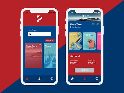 Travel App icon minimal flat web app ux branding vector ui logo design illustration