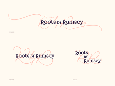 Roots by Rumsey Brand Identity identity brand design vector minimal typography logotype branding logo brand brand identity