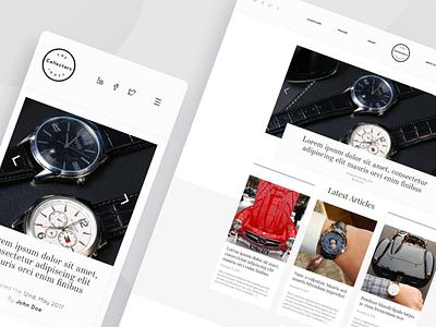The Collectors Index luxury branding luxurious white minimal news blog design luxury brand auction analytics blog wordpress luxury