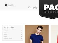 PAG Leisurewear - Website 01
