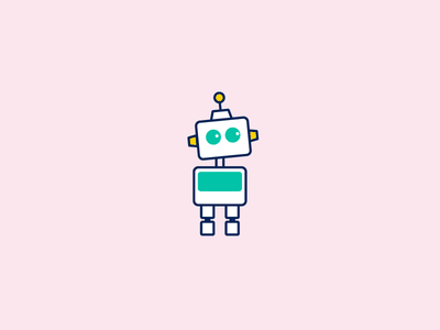 Tal.Bot robot character avatar icon vector illustration chatbot bot