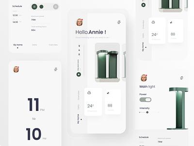 Smart app - Interaction assets app design ux uidesing uxdesign interaction design ui uidesign interface interaction application appdesign app