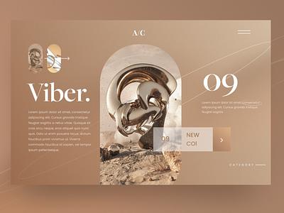 Viber. ui interaction design ux design minimal lux webdesign landingdesign uxdesign uidesign luxury landing page