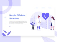 Health Landing Page