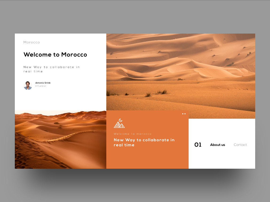 Morocco landing page landing page concept uidesign color web minimal creative ux design interaction design interface interaction ui