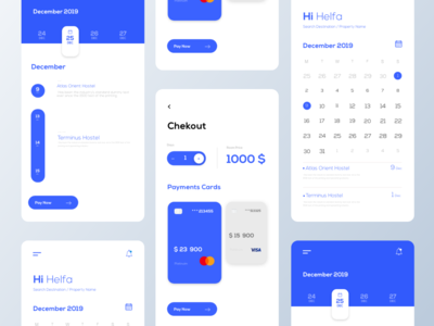 App Design interfacedesign blue booking app creative web ux minimal app uidesign interaction design interface interaction design ui