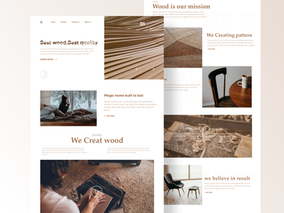 Wood Day landing page uxdesigns minimal uxdesign uidesign landing page webdesigns webdesign landing design landing page design landingpage