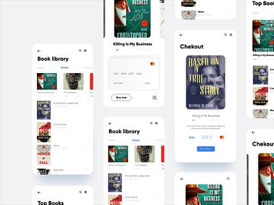 Book App bookapp uxdesign uidesign app design user interface design app appdesign interface minimal interaction design ui ux design