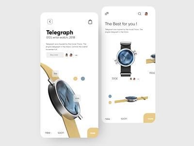 Telegraph App uidesing application design application ui minimal app design uidesign creative interface interaction design interaction ux ui design