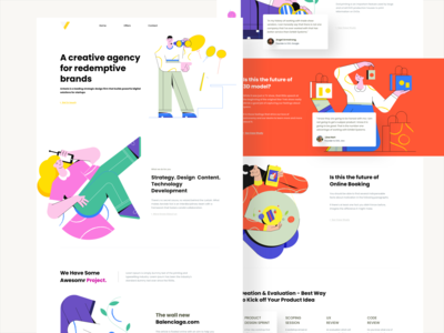 Digital agency minimal ux interaction ui digital agency webdesign freelance design uxdesign uidesigns ilustration uidesign landing page design landing design landingpage