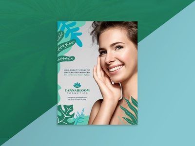 CannaBloom Cosmetics Flyer
