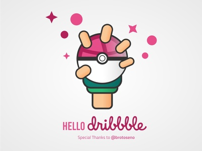 Welcome Dribbble welcome