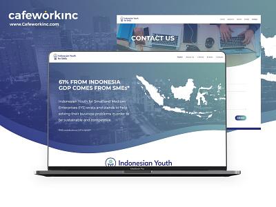 Non Profit Organization - Web Design & Development development web development web design design indonesia ngo ui  ux website