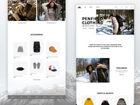 Redesign - Penfield Homepage Concept