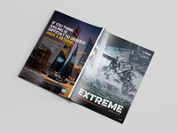Extreme Mag 2018 • Front and Back Covers