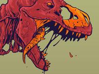 zombie dinosaur