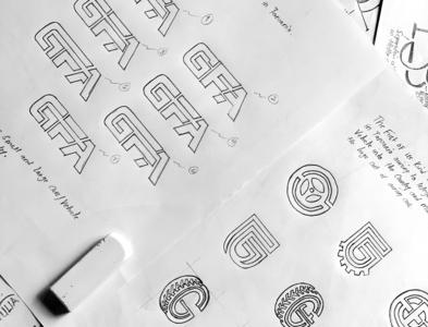 GFA SKETCHES logodose logogrid branding logoimport logoexcellent logoinspirations logodesign logoawesome logo-showcase logoexpose