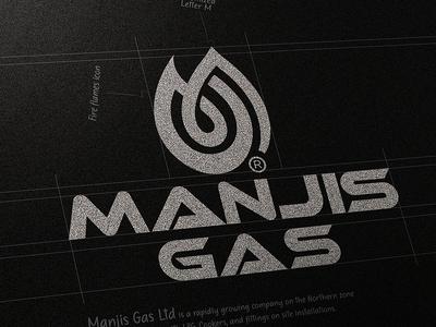 MANJIS GAS LOGO