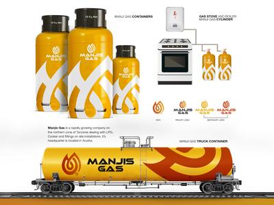 Manji Gas Brand Identity