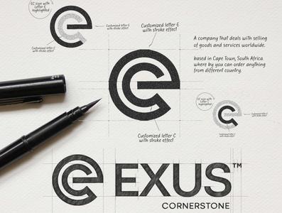EXUS LOGO logoimport logoinspirations logoexcellent identity logonew logodose branding logodesign logoawesome logo-showcase logoexpose