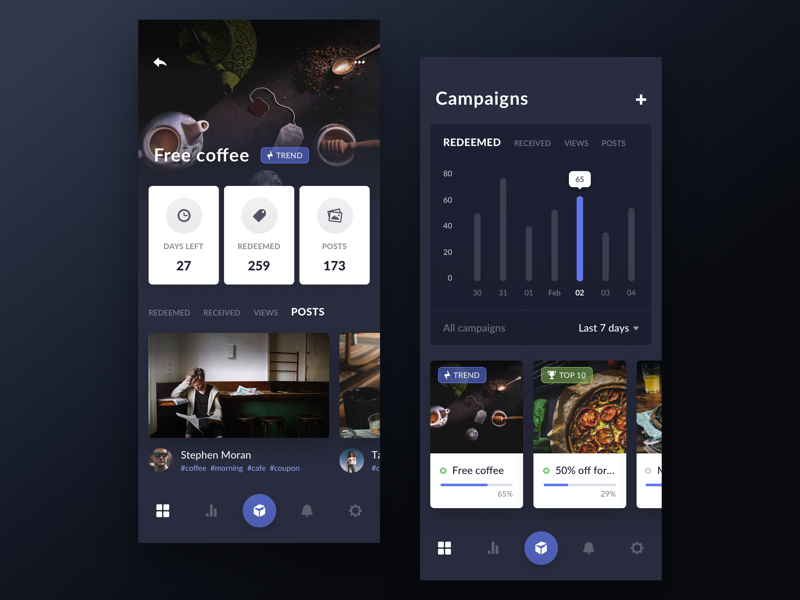 Coupon Redemption App by Gregory Muryn-Mukha | Design