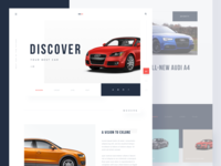 #Exploration | Uniqcar- Car Website