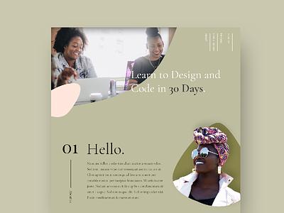 Website Design Concept design web ui