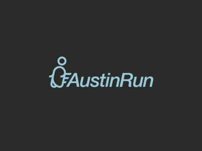 Austin Run austin logotype logo challenge thirtylogos