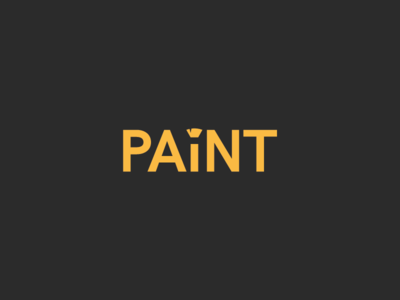 Paint paint logotype logo challenge thirtylogos
