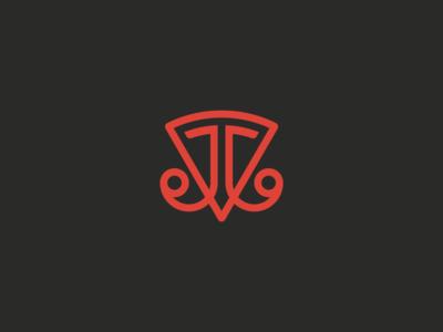 JJ Pizza jj pizza logotype logo challenge thirtylogos