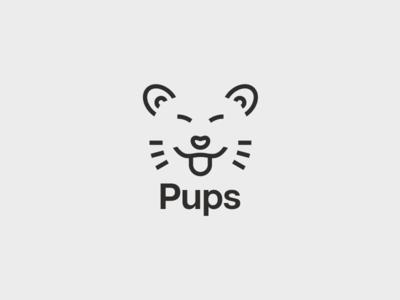 D15 Pups 03 pups logotype logo challenge thirtylogos