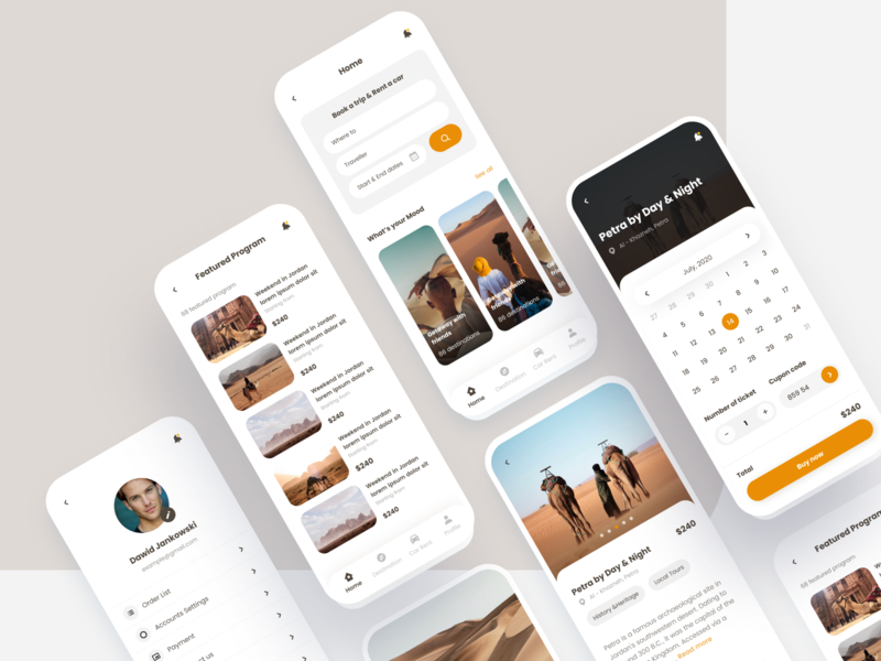Travel mobile app design travel ui user interface design ui design mobile application mobile app design mobile design mobile app mobile ui mobile