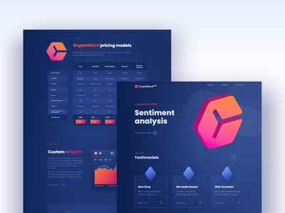 CryptoMood Pro web desgin webdesign clean landing ui design design user interface illustraion web design ui crypto wallet crypto currency cryptocurrency crypto