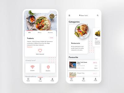 Restaurants & lifetime App mobile mobile design iphone x iphone mobile app design ui ui design user interface