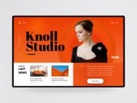 Knoll header (concept)