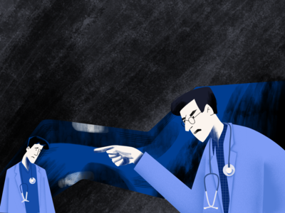 Angry doctors
