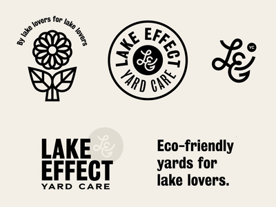 Sketches for Lake Effect Yard Care