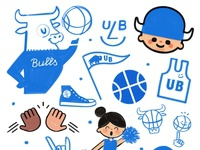 march madness doodles