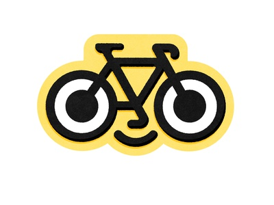 bike logo I created for some stickers