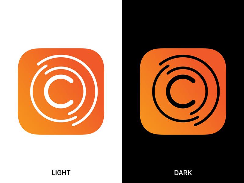 Conectohub App Icon ios graphic design app icon
