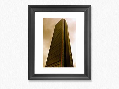 Skyscraper Poster poster skyscraper graphic design